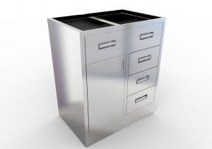 Mopec base cabinet with top drawer